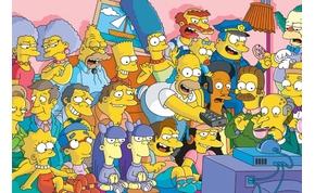 Tévétörténelmet ír a Simpson család