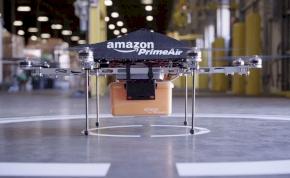 Az Amazonnak megvolt az első drónos szállítása