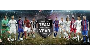 Itt van az UEFA év csapata