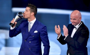 Lement a FIFA-gála: Ronaldo negyedszer az Év játékosa
