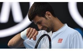 Djokovic még sosem esett ki ilyen hamar az Australian Openen