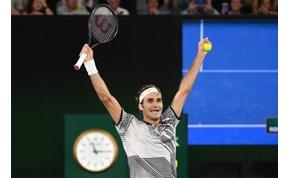 Roger Federer 18. Grand Slam-trófeáját söpörte be