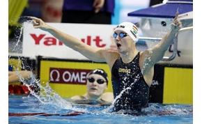 Hosszú és Verrasztó is arannyal kezdett a nizzai úszóversenyen