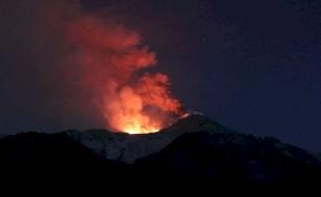 Pont az Etnán járt a BBC, amikor kitört a vulkán