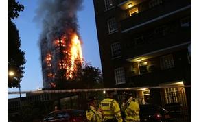 Ilyen, amikor 24 emelet teljesen lángol