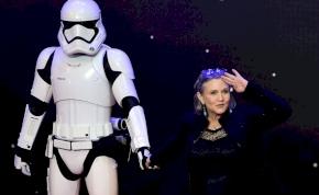 Carrie Fisher szétdrogozta az agyát halála előtt