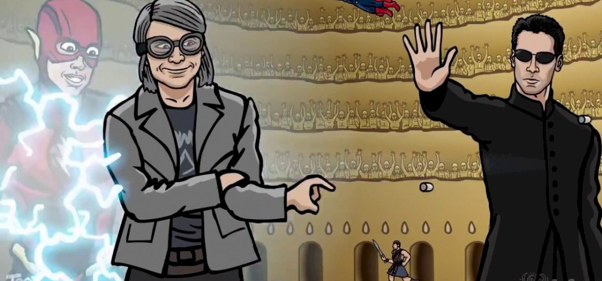 Félelmetes animációban eresztik egymásnak a pozitív hősöket