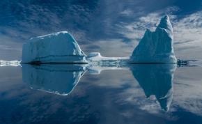 Egy körülbelül megyényi terület szakadt le az Antarktiszról