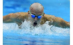 Cseh László ezüstérmet szerzett 200 méter pillangón