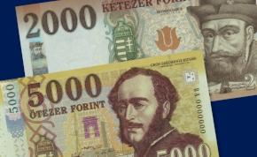 Már csak ma lehet fizetni a régi 2000 és 5000 forintosokkal