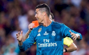 Cristiano Ronaldo öt mérkőzésre tette magát hidegre