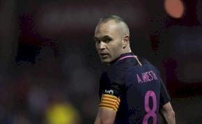 Iniesta már biztosan a Barcelonából vonul vissza