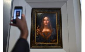 Műalkotás rekord: 119 milliárd forintért kelt el egy da Vinci festmény