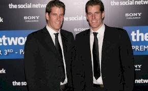 A Winklevoss testvérek milliárdosok lettek a bitcoin befektetésükkel