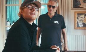 Ed Sheeran Andrea Bocelli-vel dolgozta fel újra a Perfectet