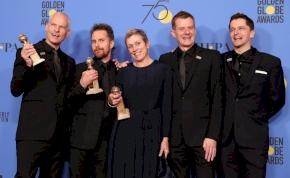 Az új Martin McDonagh film kaszált a Golden Globeon