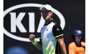 Fucsovics a 13. kiemeltet is hazaküldte az Australian Openen