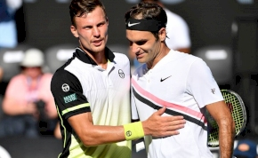 Fucsovics tökéletesen helytállt Federer ellen
