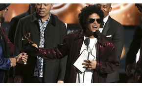 Bruno Mars és Kendrick Lamar gyűjtötte be a legtöbb Grammyt idén