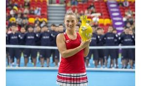 WTA versenyt nyert BabosTimi: a negyedik jött össze neki