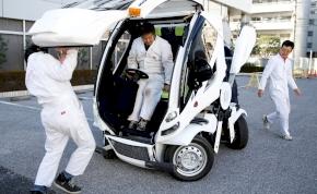 Alakváltó autót terveztek a japánok