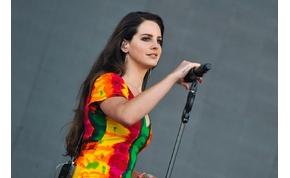 Lana Del Rey a Sziget nagyszínpadán