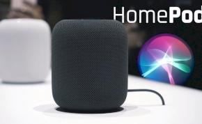 Megérkezett az Apple okoshangszórója