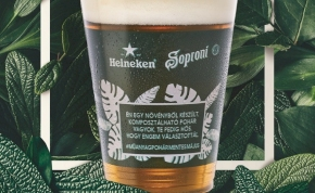 Lebomló poharakkal próbálkozik a Heineken