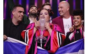 Eurovízió: a magyar metál 21. helyen végzett, Netta nyert.