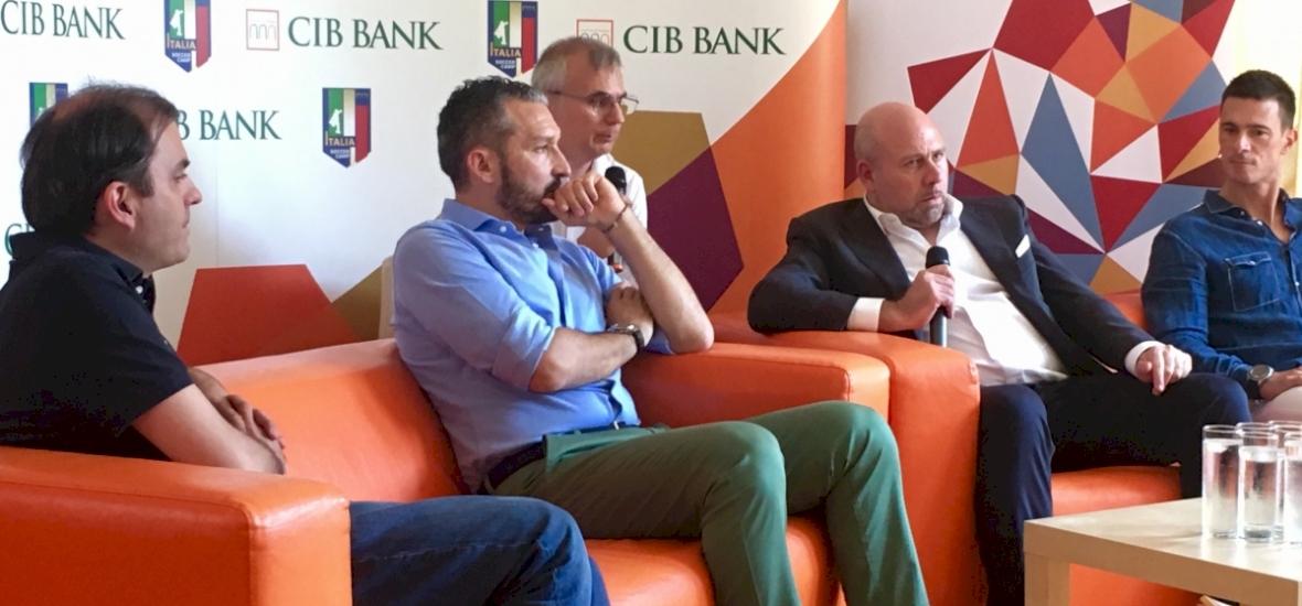 Három gyerek álmát váltja valóra a CIB Italia Focitábor