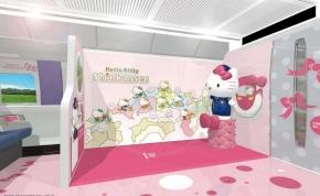 Új őrület: a Hello Kitty fanatikusok jobban teszik, ha vonatra szállnak