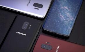 3D arcfelismerős telefonok a Samsungtól