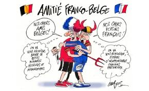 Kitört a francia-belga poénháború