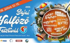 Indul a Bajai Halfőző Fesztivál