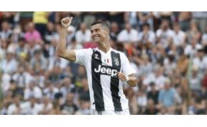 Cristiano Ronaldo is átesett a Juventus beavatási szertartásán