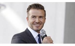 Nagy elismerésben részesül David Beckham