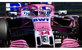 Hamilton történelmet írt, de a Force India elvitte a show-t