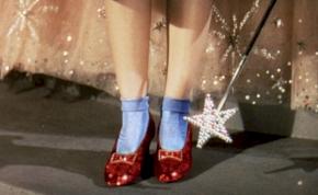 Megkerült Dorothy piros cipellője
