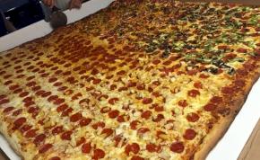 Mekkora pizzát rendelnél házhoz?
