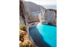 Leszakadt egy hatalmas szikladarab Zakinthosz legendás strandján