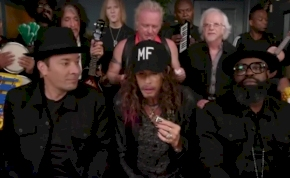 Így még biztosan nem hallottuk az Aerosmith nagy slágerét