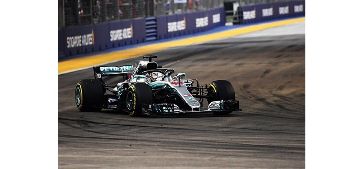 Nem volt esélye a Ferrarinak, Hamilton közel került az ötödik vb-címéhez