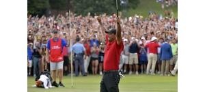 Nincs többé lecsúszott gyógyszerfüggő, csak Tiger Woods, a király!