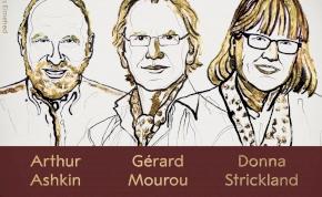 Donna Strickland a harmadik nő, aki megkapta a fizikai Nobel-díjat