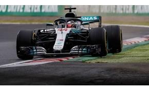 Mérföldkőhöz érkezett Lewis Hamilton a Japán Nagydíj időmérőjén
