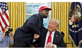Amerika elképedt Kanye West és Donald Trump szürreális találkozóján