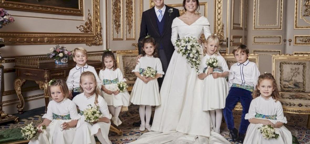 Merész ruhakollekciók a királyi esküvőn, férjhez ment II. Erzsébet unokája