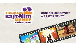 Újra itt van a gyerekek egyik kedvenc programja: az Országos Rajzfilmünnep!