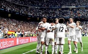 Egy adat, amely rámutat a Real Madrid pocsék szereplésére