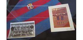 Puskás Öcsi focicipőjét kiállították Barcelonában